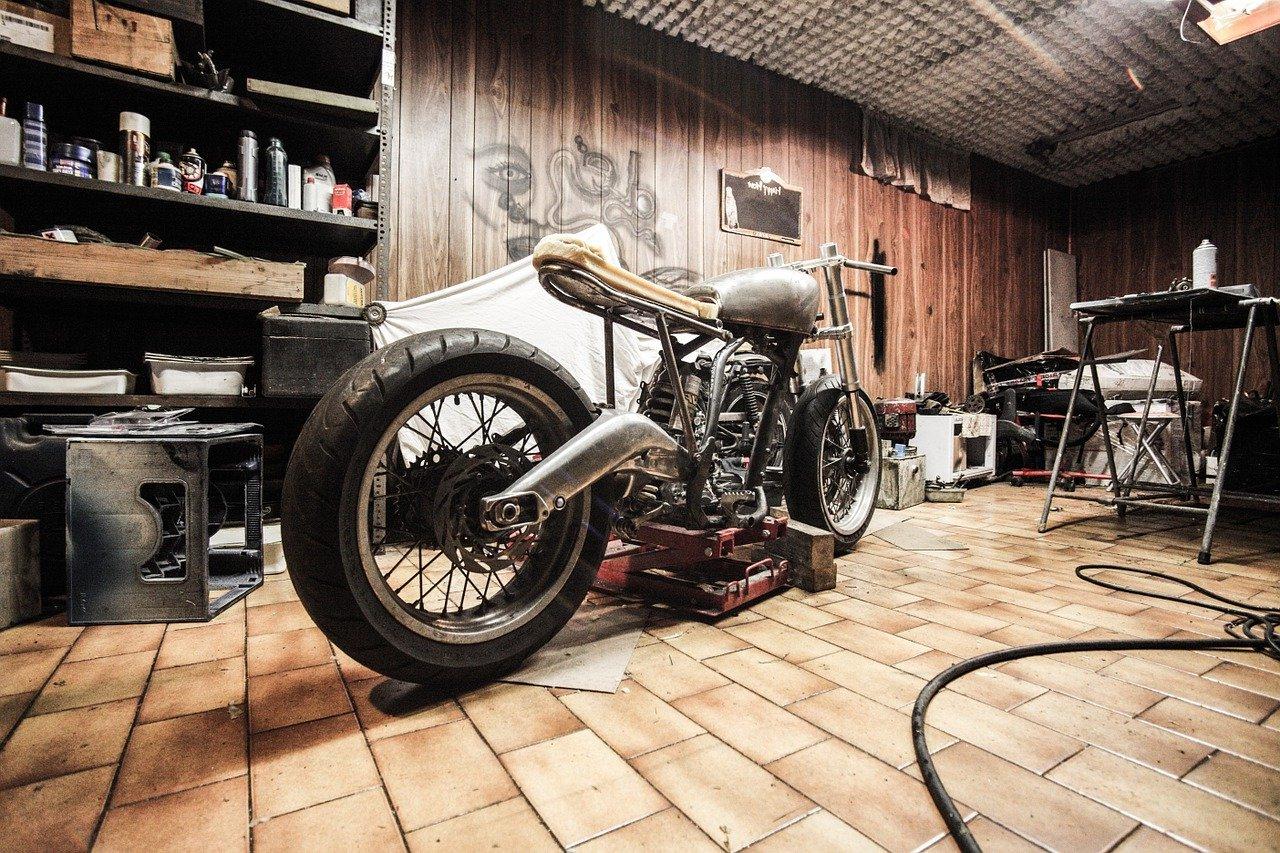 bengkel sepeda motor